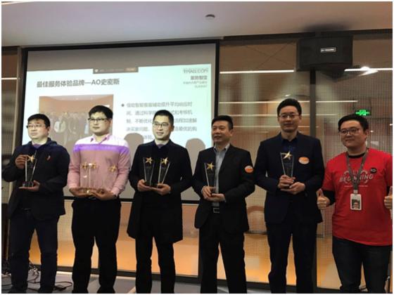 践行核心价值观,喜贺电商获京东、天猫服务及创新奖项!